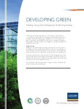 Developing green checklist