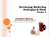 Developing marketing strategies & p...