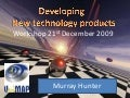 Developing technology based products