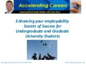 An Overview Of Employability Skills...