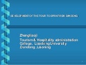 Development Of The Tour To Dprk Fro...