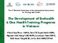 The development of Ecohealth and One Health training programs in Vietnam