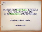 Development of the Turkish Curricul...