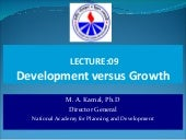 Development vs growth (L9)