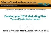 Develop Your 2010 Marketing Plan Os...