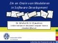 Devnology Back to School: Empirical Evidence on Modeling in Software Development