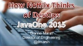 How Netflix thinks of DevOps. Spoiler: we don't.