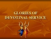 Glories of Devotional service