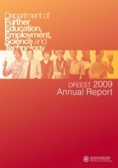 DFEEST Annual Report 2009