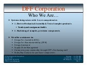 Dff Corporation   Systems Integrato...