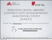 Dh2012 enriching digital libraries ...