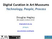 Digital Curation Technology: JHU Summit, October 2015