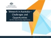 Telework in Australia – Challenges and Opportunities