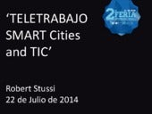 TELETRABAJO: SMART Cities and TIC