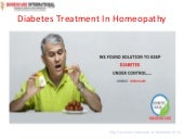 Diabetes Treatment In Homeopathy | ...