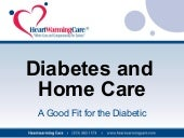 Diabetes and Home Care