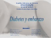 Diabetes Y Embarazo Sem