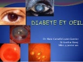 Diabetes and the Eye (French) Sympo...