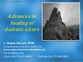 Advances in healing of diabetic foo...