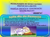 Dia do pastor  wellington