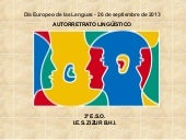 Dia europeo de las lenguas 2013