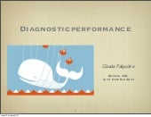 Diagnostic performances