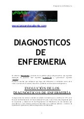 Diagnostico de enfermeria -------- doc