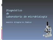 Diagnostico de laboratorio  ajimenez
