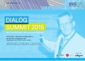 Dialog Summit Frankfurt Germany Programme