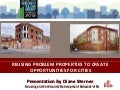 NJ Future Forum 2012 Problem Properties Sterner