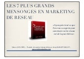 Les 7 Plus Grands Mensonges du Mark...