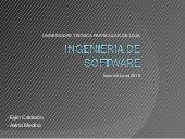 Ingeniería de Software - Isummit 2010