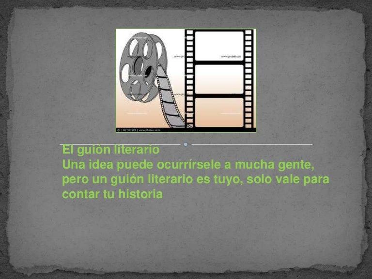guion literario ejemplo pdf