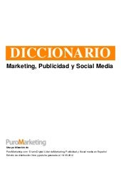 Diccionario de marketing, publicida...