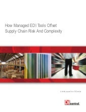 How Managed EDI Tools Offset Supply...