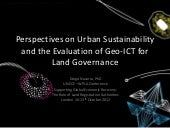Perspectives on Urban Sustainabilit...