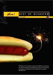 Diet Of Disaster Report
