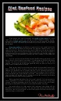 Diet seafood recipes