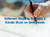Different ways to promote a kindle ...