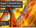 Speed is Essential for a Great Web Experience (Digicure - Copenhagen)