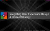 How to Integrate User Experience and Content Strategy