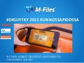 Digijytky kunnossapidossa 2015 - M-Files