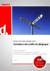 Digimind: Benchmark Solutions de Ve...