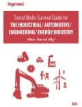 Social Media Survival Guide for the B2B ENERGY, AUTOMOTIVE & ENGINEERING Industry