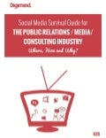 Social Media Survival Guide for the B2B PR, MEDIA & CONSULTING Industry
