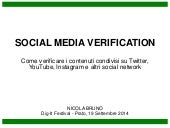 Social Media Verification Tools