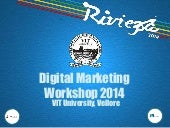 Digital Marketing Workshop 2014 at ...