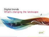Digital trends in healthcare and ph...