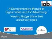 Nielsen / IAB - Digital video-and-tv-advertising-viewing-budget-share-shift-and-effectiveness-final 2012