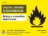The Digital Brand Cookbook
